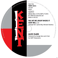 Alice Clark, The Devonnes - You Hit Me (Right Where It Hurt Me) [Vinyl]