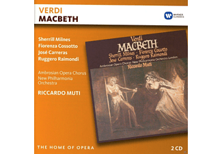 VARIOUS, Ambrosian Opera Chorus, New Philharmonia Orchestra - Macbeth - (CD)
