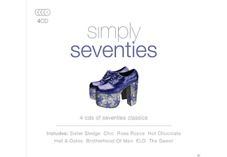 VARIOUS - Simply Seventies - (CD)
