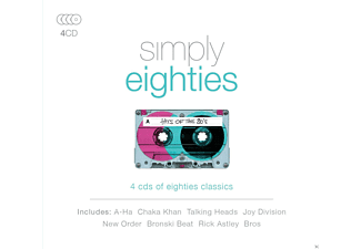 VARIOUS - Simply Eighties - (CD)