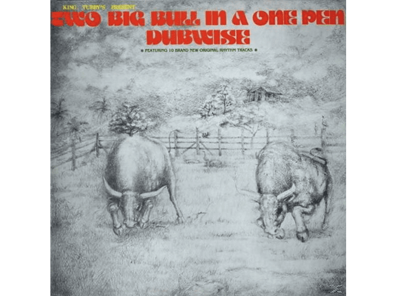 King Tubby - Two Big Bull In A One Pen (Dubwise Versions) [CD]