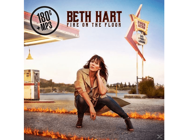 Beth Hart - Fire On The Floor (180g LP+MP3) [LP + Download]