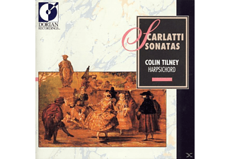 Colin Tilney - Cembalosonaten - (CD)