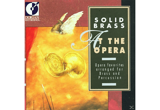 Solid Brass - Solid Brass At The Opera - (CD)
