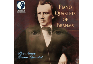 The Ames Piano Quartet - Brahms Piano Quartets - (CD)