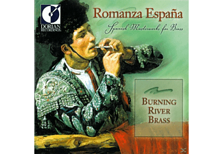 Burning River Brass - Romanza Espana - (CD)