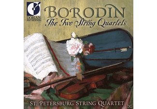 ST.PETERSBURG STRING QUARTET - The Two String Quartets - (CD)