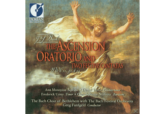 Greg/bach Choir Of Bethlehem Funfgeld - Bach Ascension Oratorio - (CD)