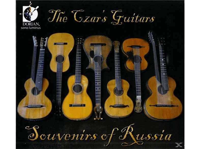 The Czar's Guitars - Souvenirs Of Russia [CD]