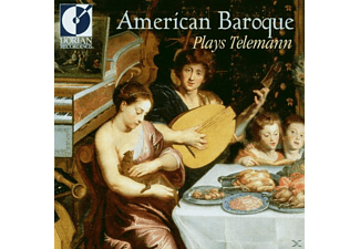 American Baroque - Plays Telemann - (CD)