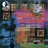 Andrew Litton, Dallas Symphony Orchestra - American Tapestry [CD]