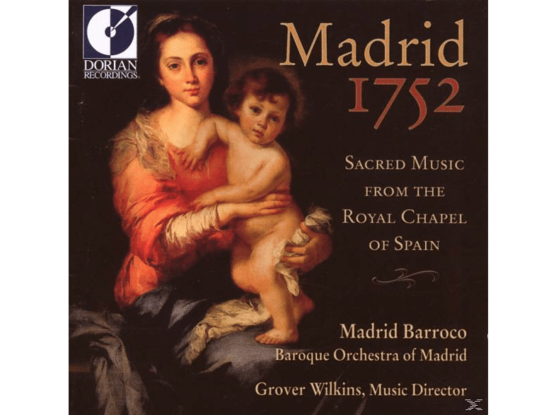 Baroque Orchestra Of Madrid/Matthews/Cam - Madrid 1752 [CD]