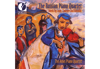 The Ames Piano Quartet - The Russian Piano Quartet - (CD)