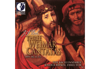 Bach Ensemble - Three Weimar Cantatas BWV 182,12,172 - (CD)