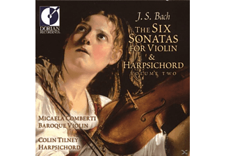 Micaela Comberti, Colin Tiney - Sonatas For Violin & Harpsichord Vol.2 - (CD)