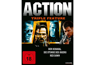 Action Triple Feature - (DVD)
