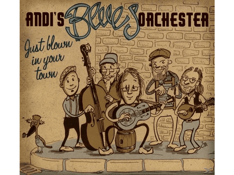 Andi's Blues Orchester - Just blown in your town [CD]