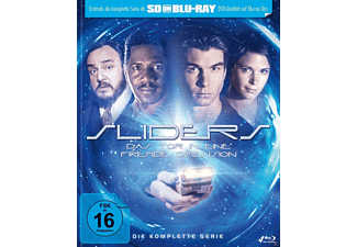 Sliders - Das Tor in eine fremde Dimension - Die komplette Serie Science Fiction Blu-ray
