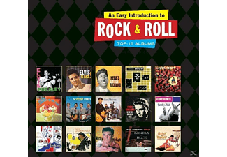 VARIOUS - An Easy Introduction To Rock'n'Roll-Top 15 Albums - (CD)