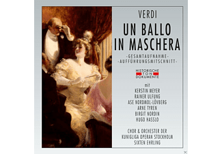 Kerstin Meyer, VARIOUS - Un Ballo In Maschera - (CD)