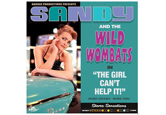 Sandy & The Wild Wombats - The Girl Can't Help It (LP,180g,limited) - (Vinyl)