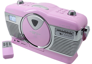 SOUNDMASTER RCD 1350, CD Radio, UKW, Pink