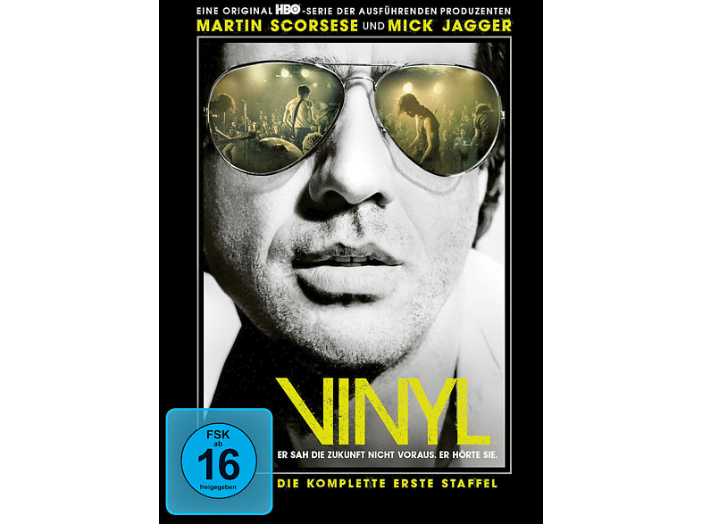 Vinyl - Staffel 1 [DVD]