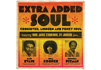 VARIOUS - Extra Added Soul: Crossover,Modern And Funky Soul - (CD)