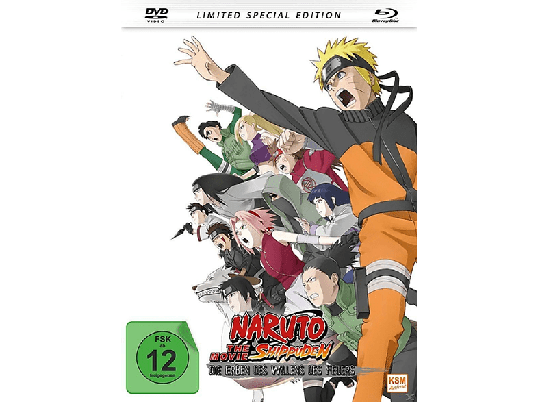 Naruto Shippuden - Die Erben des Willens des Feuers /The Movie 3 [DVD]