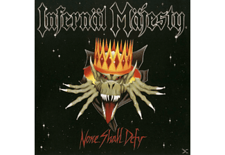 Infernal Majesty - None Shall Defy  (Ld.Blood Red Vinyl) - (Vinyl)