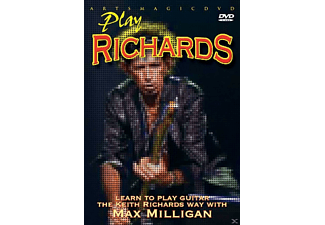 PLAY RICHARDS - LEARN TO PLAY KEITH RICHARDS WAY W - (DVD)