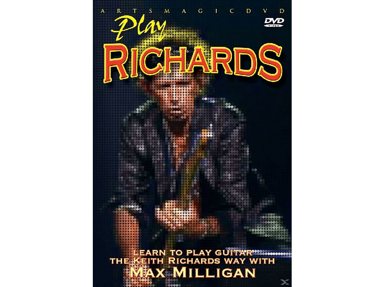 PLAY RICHARDS - LEARN TO PLAY KEITH RICHARDS WAY W [DVD]