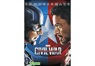 Captain America - Civil War DVD