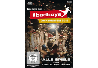 TRIUMPH DER BADBOYS-DIE HANDBALL-EM 2016-ALL - (DVD)