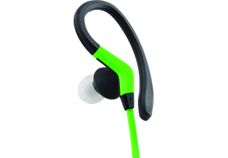 ISY IIE-1403, In-ear Headset, Grün