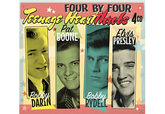 Darin, Boone, Rydell & Presley - Four by Four-Teenage Heartthrobs - (CD)