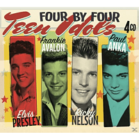 Presley, Avalon, Nelson & Anka - Four by Four-Teen Idols [CD]