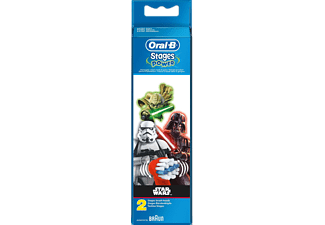 ORAL-B Power Kids Refillborsthuvuden med Temat Star Wars x2