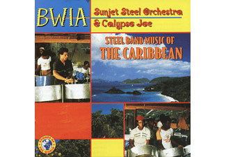 Steel Band Music Of The Caribbean - 1 CD - Folk / Folklore