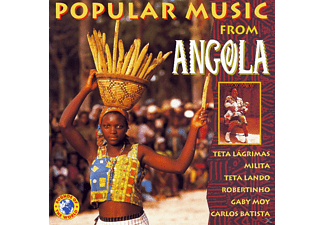 VARIOUS - Popular Music From Angola - (CD)