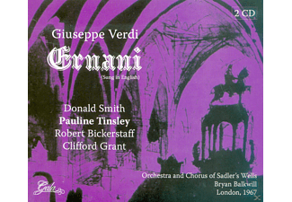 Robert Bickerstaff, Clifford Grant, Pauline Tinsley - Ernani - (CD)