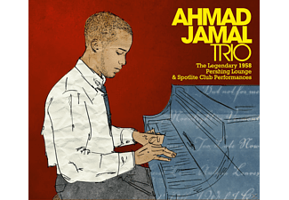 Ahmad Trio Jamal - The Legendary 1958 Pershing Lounge & Spotlite Club Performan - (CD)