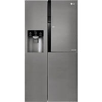 LG GSJ 361 DIDV Side-by-Side (429 kWh/Jahr, A+, 1790 mm hoch, Dark Graphite)