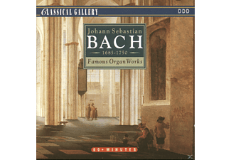 J.S. Bach - Famous Organ Works - (CD)