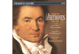 Ludwig Van Beethoven - Sonata 14'moonlight' - (CD)