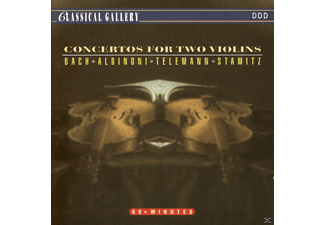 Anna Holbling, Guido Holbling, Vladimir Piatkowski, Bohdan Warchal, Slovak Chamber Orchestra - Concertos For Two Violins - (CD)