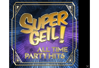 VARIOUS - Supergeil!-All Time Party Hits - (CD)