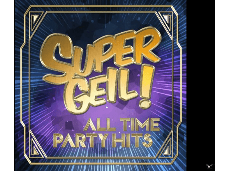 VARIOUS - Supergeil!-All Time Party Hits [CD]