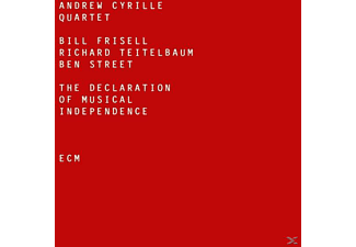 Andrew Cyrille Quartet, Bill Frisell, Ben Street - The Declaration Of Musical Independence - (CD)