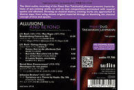 Pianoduo Takahashi-lehmann - Allusions And Beyond [CD]